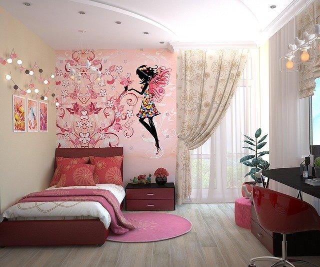 pokoj dla dziewczynki